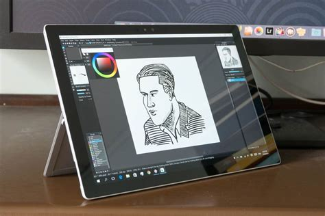 artist review surface pro    drawing tablet parka