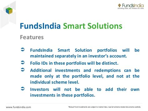 Fundsindia Smart Solutions