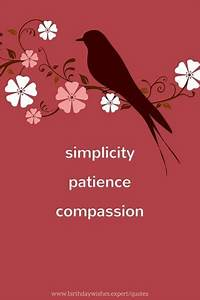 100 Inspiration... Simplicity Patience Compassion Quotes