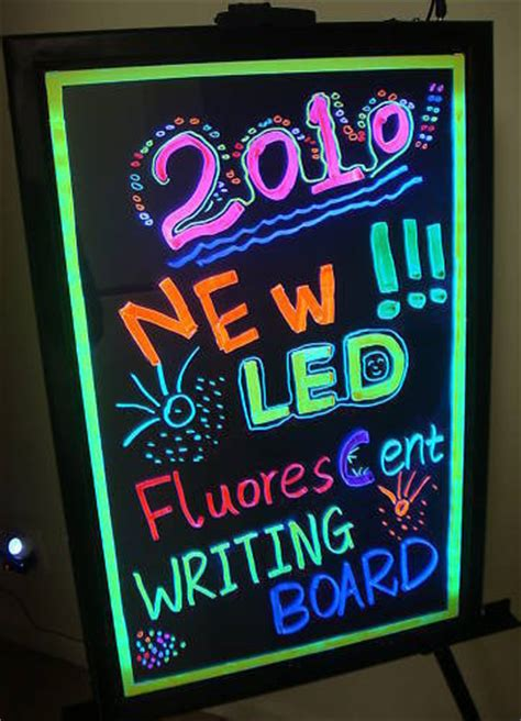 neon signs for home decor illuminated erasable neon led message writing