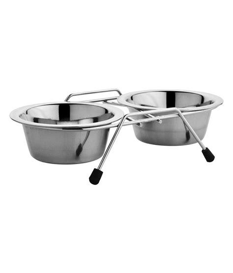 stainless steel feeder bowl hmsteels pet bowls stainless steel feeding bowl buy