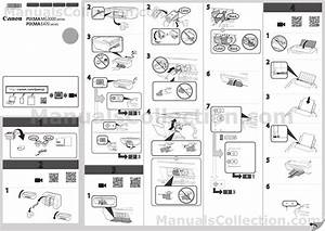 Canon Pixma Mg3050 Mg3000 Series Getting Started Guide