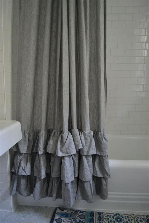 bathroom awesome grey shower curtain  bathroom