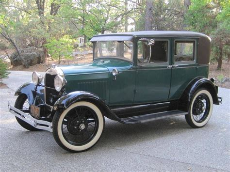 Model A Ford For Sale by 1929 Ford Model A Fordor Leatherback Sedan For Sale