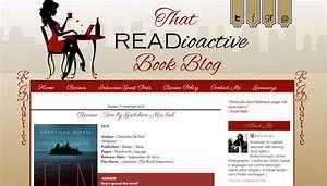 Custom Blog Design - Readioactive Book Blog | BD Web Studio