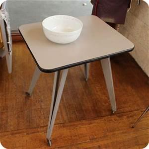 Table Pieds Compas : meubles vintage consoles petits meubles table roulante pieds compas fabuleuse factory ~ Teatrodelosmanantiales.com Idées de Décoration