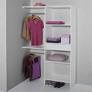 Amenagement Dressing Angle : besoin d 39 un petit dressing les solutions blog ~ Premium-room.com Idées de Décoration