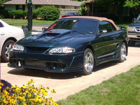 1995 Ford Mustang  Information And Photos Zombiedrive