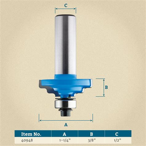 twin step ogee router bit rockler woodworking