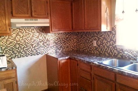 peel and stick kitchen backsplash ideas minimalist kitchen style ideas with mosaic glass peel
