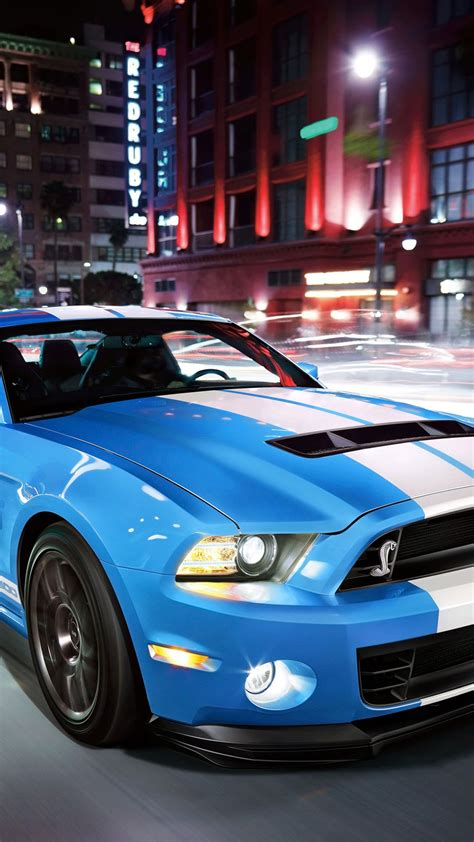 light blue ford shelby sport car  htc  wallpapers