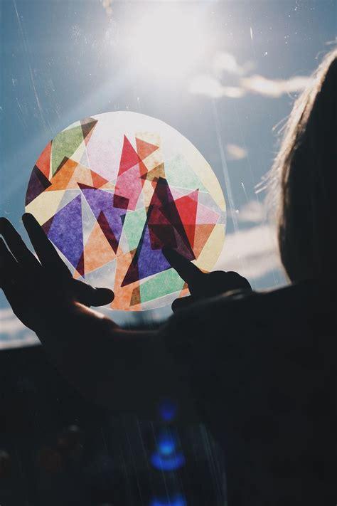 Fensterbilder Weihnachten Basteln Einfach by 25 Einzigartige Basteln Mit Transparentpapier Ideen Auf