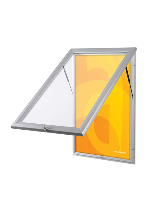 lockable outdoor led edgelit lightbox assigns