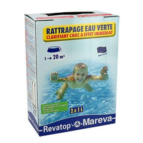 produit miracle eau verte piscine rattrapage eau verte 2 x 1 l traitement achat sur