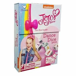 Nickelodeon JoJo Siwa Dance Dice Game - Walmart.com