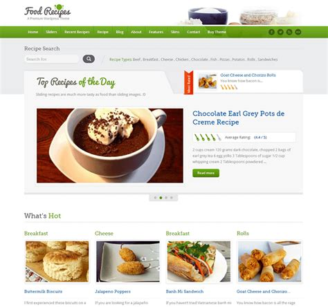 site recette de cuisine gourmandise en image