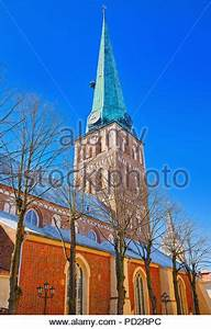 St. James Cathedral the fourth largest church in Riga, the ...