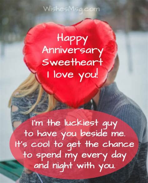 wedding anniversary wishes  wife sweet romantic messages