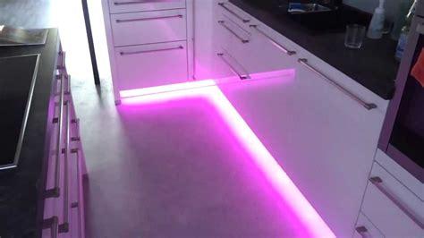 Steintapete In Der Küche by Led Beleuchtung In Der K 252 Che