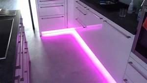 Led Strips Küche : led beleuchtung in der k che youtube ~ Buech-reservation.com Haus und Dekorationen