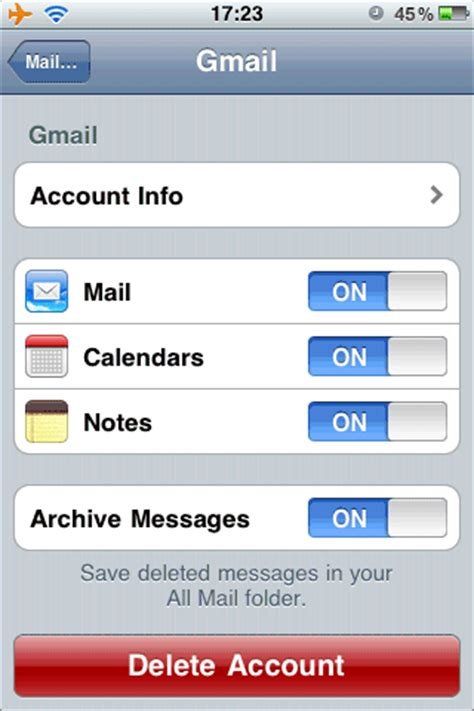 how to save notes from iphone save iphone notes to a gmail account