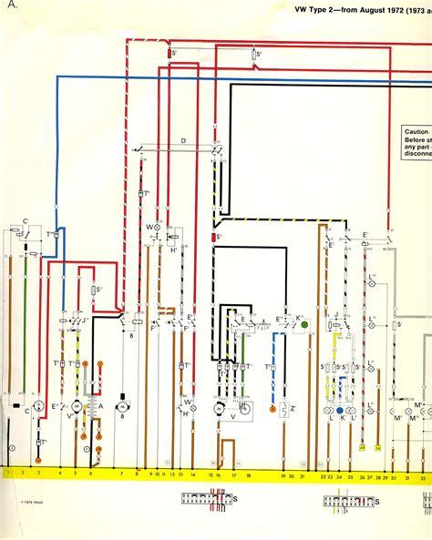Engine Vacuum Diagram 1973 Vw Bu by 1973 74 Wiring Diagram Thegoldenbug