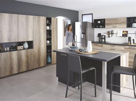 cuisine ouverte ilot central comment aménager sa cuisine ouverte cuisinella