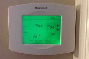 Honeywell Thermostat Factory Reset