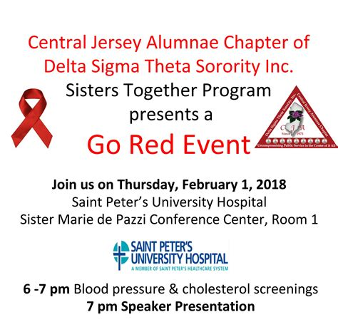 red sisters  heart health central jersey