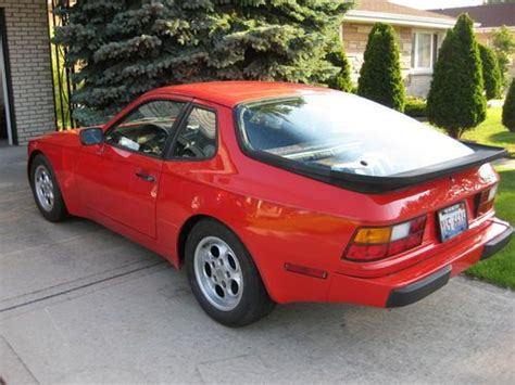 best car repair manuals 1991 porsche 944 user handbook purchase used 1986 porsche 944 w manual transmission in niles illinois united states