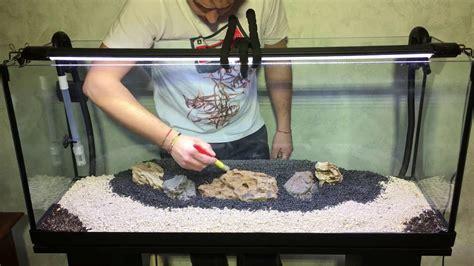 Arredamenti Per Acquari Tutorial Allestimento Acquario Aquarium