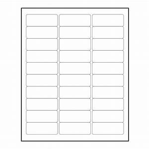3000 blank 1quot x 2 5 8quot return address labels inkjet for Avery 5160 template pdf