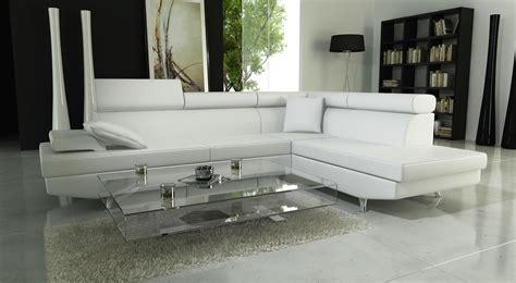 canapé blanc design photos canapé d 39 angle cuir blanc design