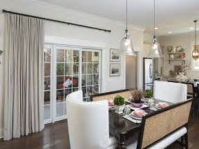kitchen window treatment ideas for sliding glass doors