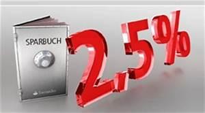 Zinsen Sparbuch Berechnen : neu top sparbuch mit 2 50 zinsen der santander bank ~ Themetempest.com Abrechnung