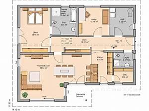 Haus Raumaufteilung Beispiele : die 24 besten bilder zu grundriss bungalow auf pinterest ~ Lizthompson.info Haus und Dekorationen