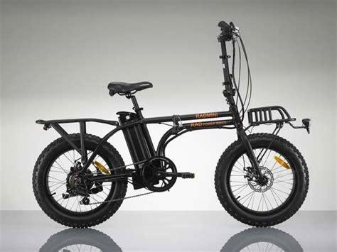 Radmini Folding Electric Bike With All-terrain Wheels