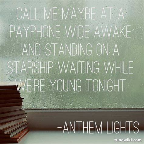 anthem lights lyrics 17 best images about anthem lights on pompeii