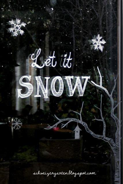 Weihnachtsdeko Fenster Bemalen by Ein Schweizer Garten Diy Weihnachtsideen