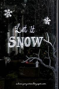 Fenster Bemalen Weihnachten : fenster bemalen kreidestift fl ssig kreide fenstermarker winterliches fenster ideen diy ~ Watch28wear.com Haus und Dekorationen