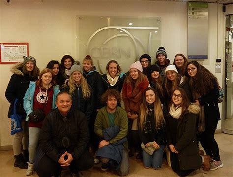 tggs students visit cern torquay girls grammar school