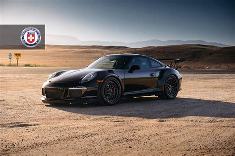 Black Gt3 Rs by Black Porsche 991 Gt3 Rs On Hre Wheels