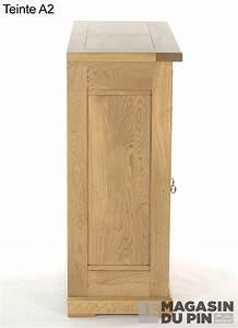 meuble d39entree chene massif loire le magasin du pin With porte d entrée pvc avec meuble salle de bain blanc 100 cm