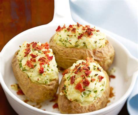 cuisiner saumon fumé recette facile pommes de terre au four ciboulette et