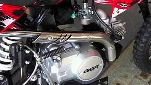 110cc Ssr Dirt Bike Pit Motorcycle Kick Start Problem
