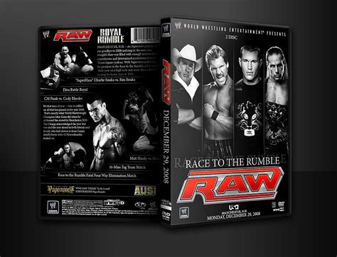 Wwe Raw Dvd Dec 29, 08 V1 By Ausixfox On Deviantart