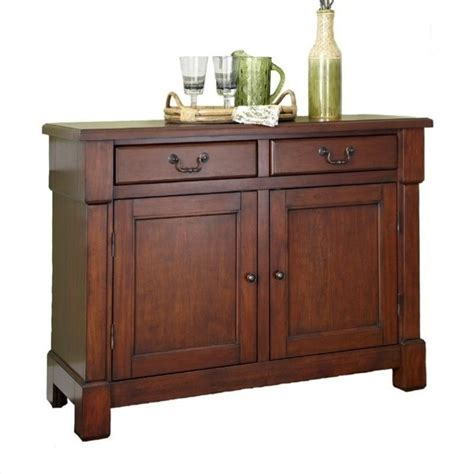 Cherry Wood Buffet Sideboard by Home Styles Aspen Buffet Cherry Tables Sideboards In