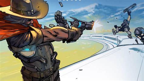 overwatchs  comic tells  story  bounty hunter