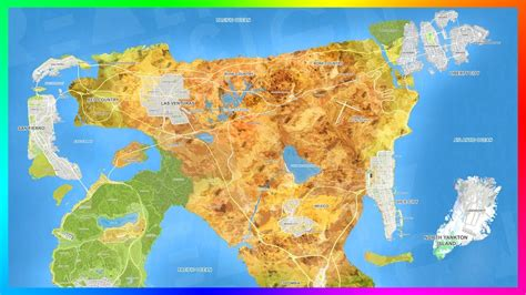 Gta 6 Ultimate World Expansion Map Concept Featuring 8