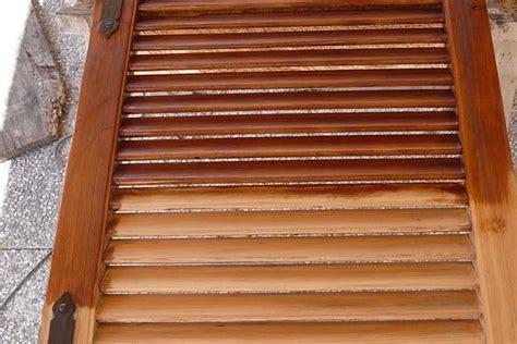 costruire una persiana manutenzione persiane in legno finestre